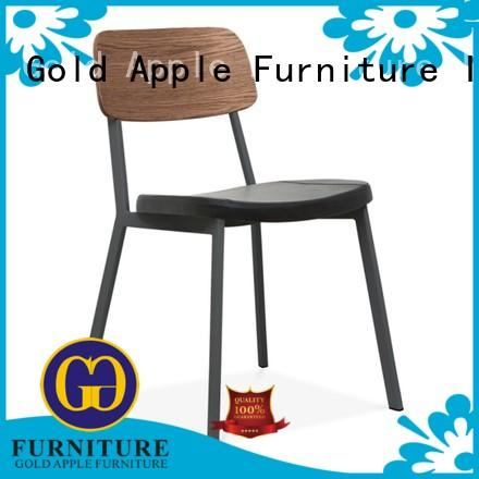 Gold Apple simple stacking chairs for sale french school student