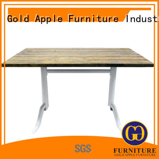 Gold Apple coffee shop outdoor tables for sale commercial for dining room