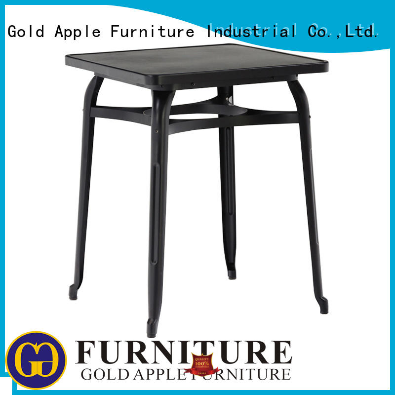 party wedding wood patio table long Gold Apple Brand company
