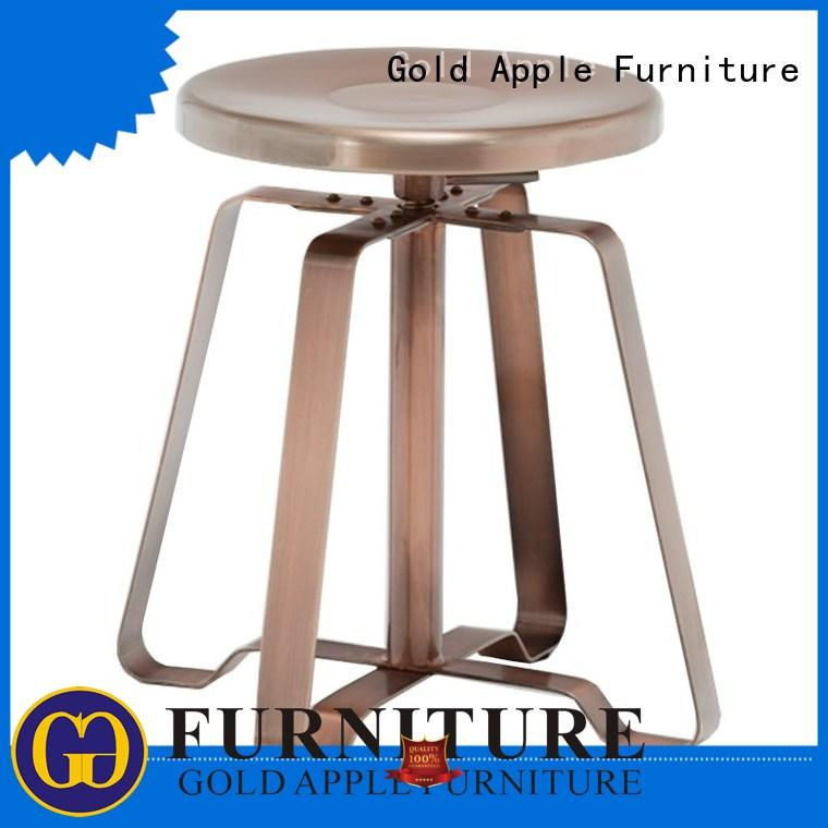 Gold Apple low price modern low stools school chair for wholesale