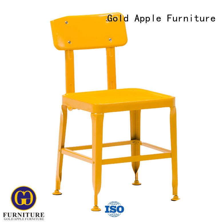 Gold Apple bistro outdoor chairs for sale steel on-sale