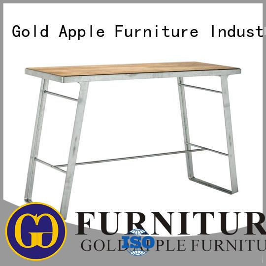 Outdoor Hot Dip Galvanized Metal Frame Bar Table GA3101BT