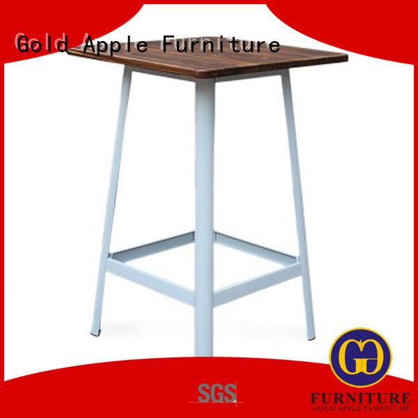 Gold Apple vintage indoor bar table modern commercial furniture