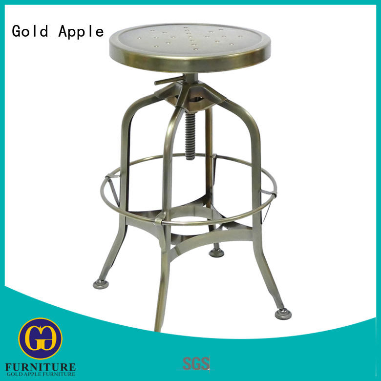 Wholesale Vintage Industrial Antique Style Barstool Metal Bar Stool GA403C-65ST