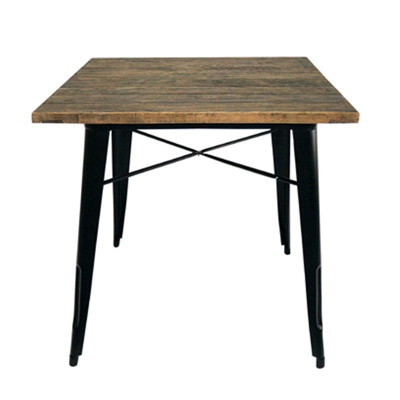 luxury large round wood dining table high-quality for catering-1