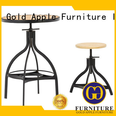 Gold Apple outdoor high bar table set all weather proof