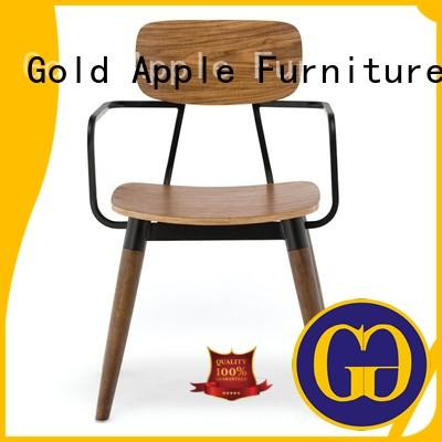 Gold Apple wooden woodworking chair solid for kitchen