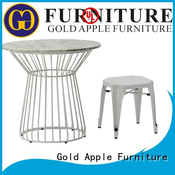 Gold Apple ga301set outdoor wooden table and chairs commercial furniture