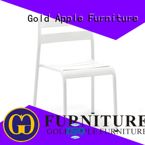 Gold Apple antique stackable conference chairs commercial for restaurant