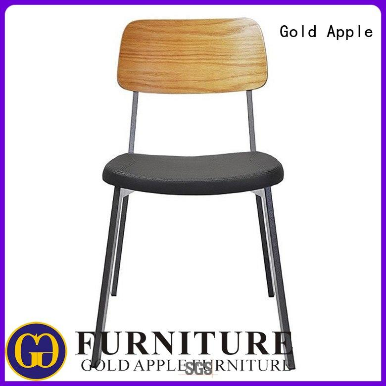 Gold Apple industrial upholstered kitchen chairs modern armchair