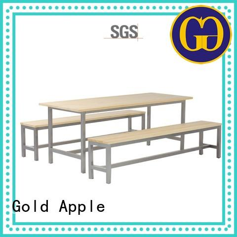 Gold Apple cast iron outdoor table and chair set high-quality