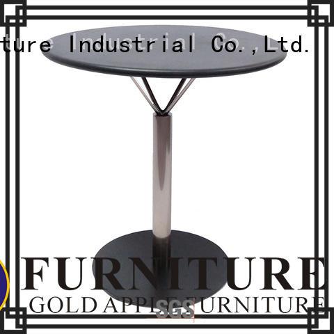 sale round restaurant modern wood coffee table Gold Apple Brand