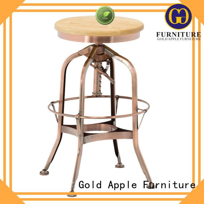 wooden stool chair adjustable Bulk Buy furniture Gold Apple
