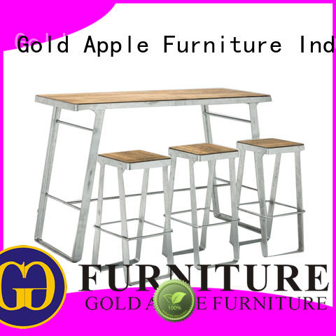 Gold Apple comfortable modern bar table set durable for wholesale