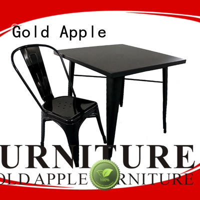 French Style Steel Table and Chair GA101 SET