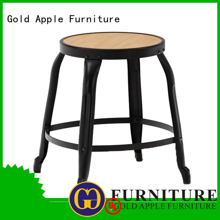 simple low stools for living room fashion at discount Gold Apple