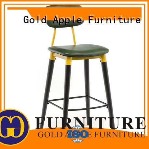 upholstered counter height bar stools metal bar chair for cafe