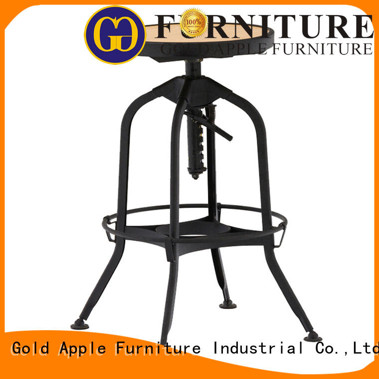 Gold Apple antique swivel counter height stools retro for bar