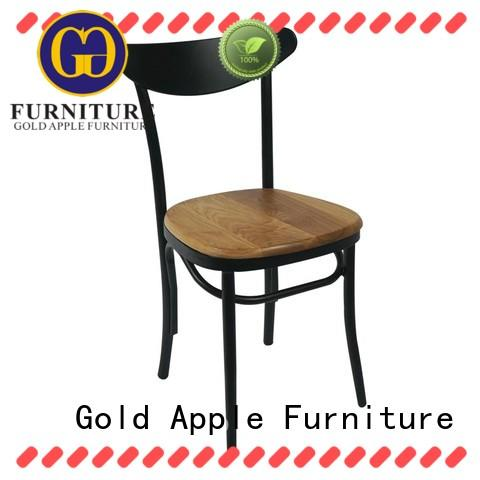 wooden wooden chair suppliers low-price cafe furniture Gold Apple
