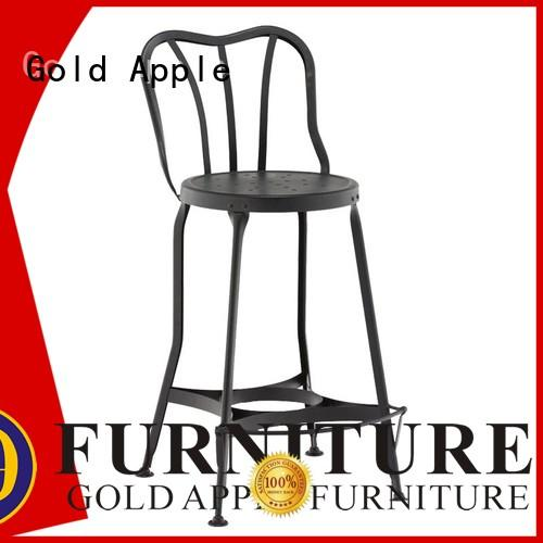 Gold Apple industrial outdoor counter stools for coffee shop