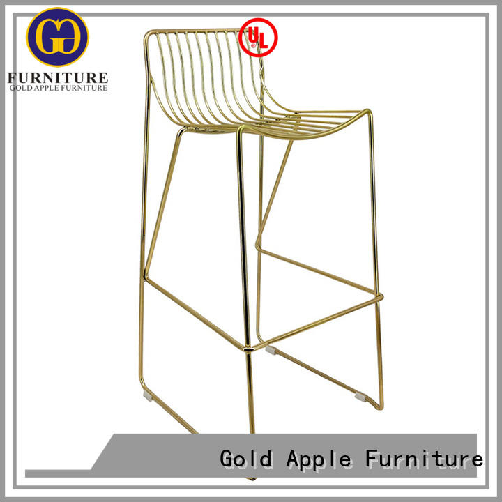 Plating Gold/Rose Gold Metal Wire Bar Chair GA2208C-75ST