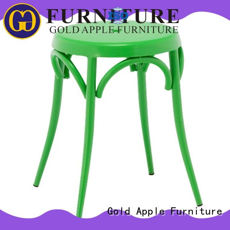 Gold Apple outdoor outdoor patio bar stools on-sale for coffee shop