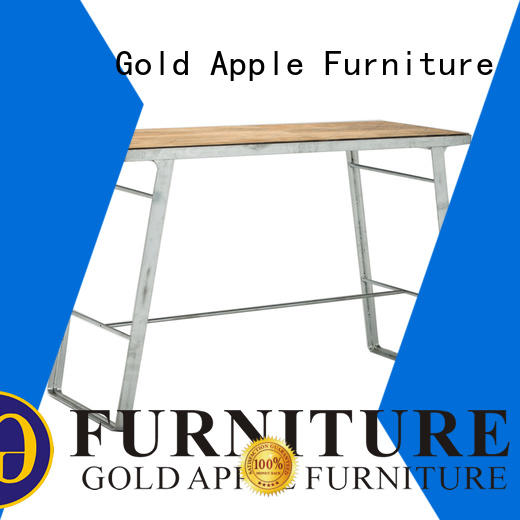 Gold Apple outdoor party commercial bar tables top commercial furniture