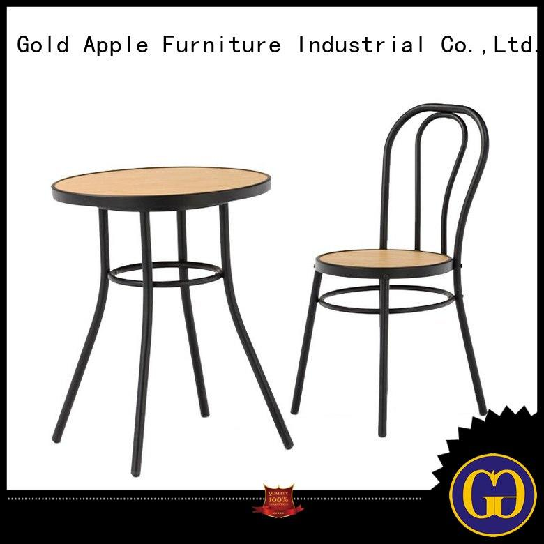 customized dining room table sets 6 chairs indoor for hotel Gold Apple