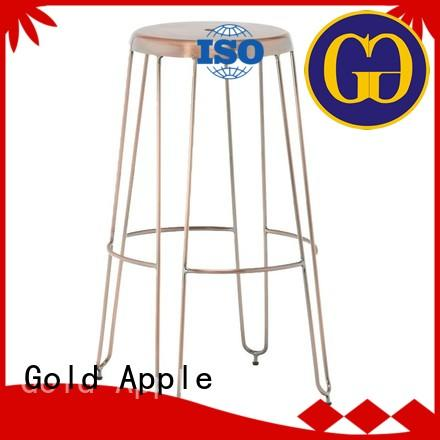 Gold Apple comfortable outdoor stools low back