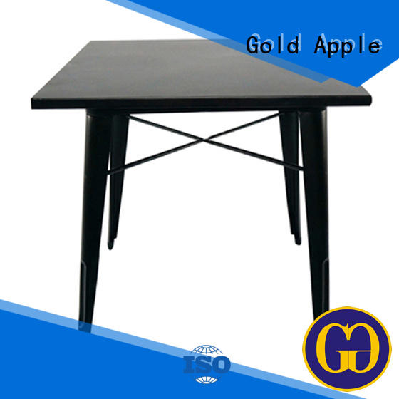 chic design large wooden dining table for restaurant