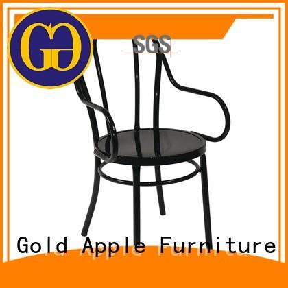 Gold Apple adjustable height vintage metal chairs industrial shelf stack