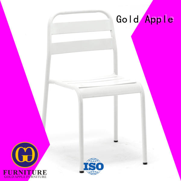 Gold Apple modern stackable high chair hotel for furniture