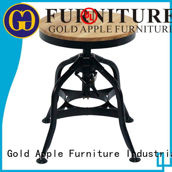 Gold Apple low price modern low stools professional at discount