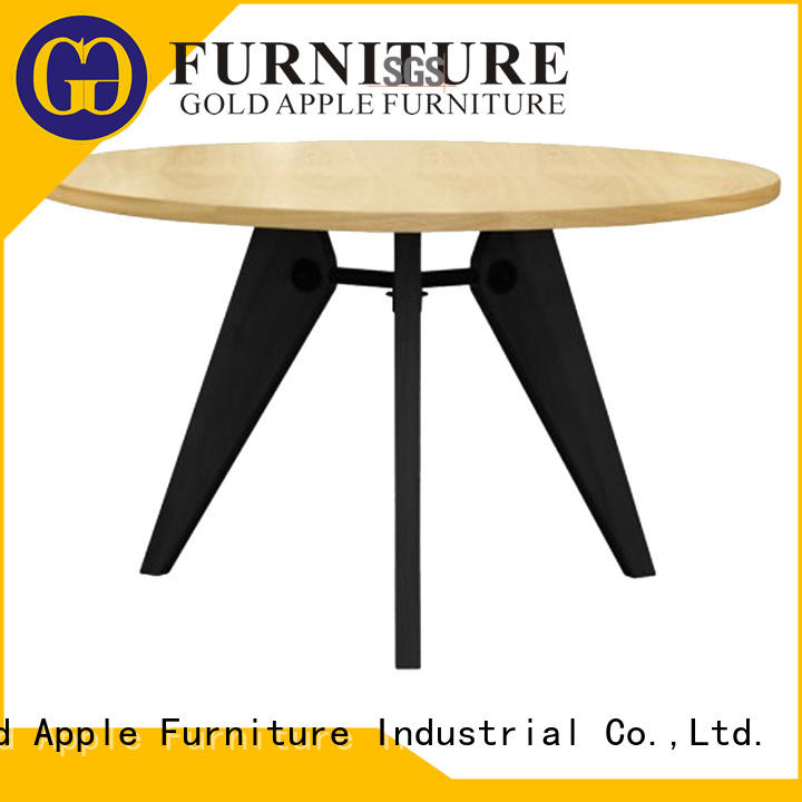 high-quality wood dining tables for sale hot-sale for restaurant Gold Apple