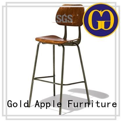 antique wooden kitchen stools vintage industrial metal with backrest