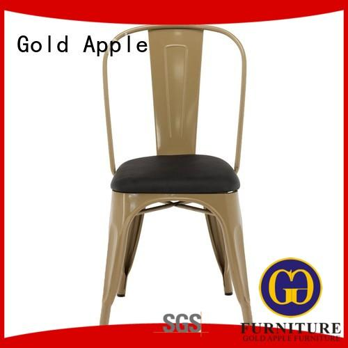 adjustable height metal indoor chairs rose gold without armrest