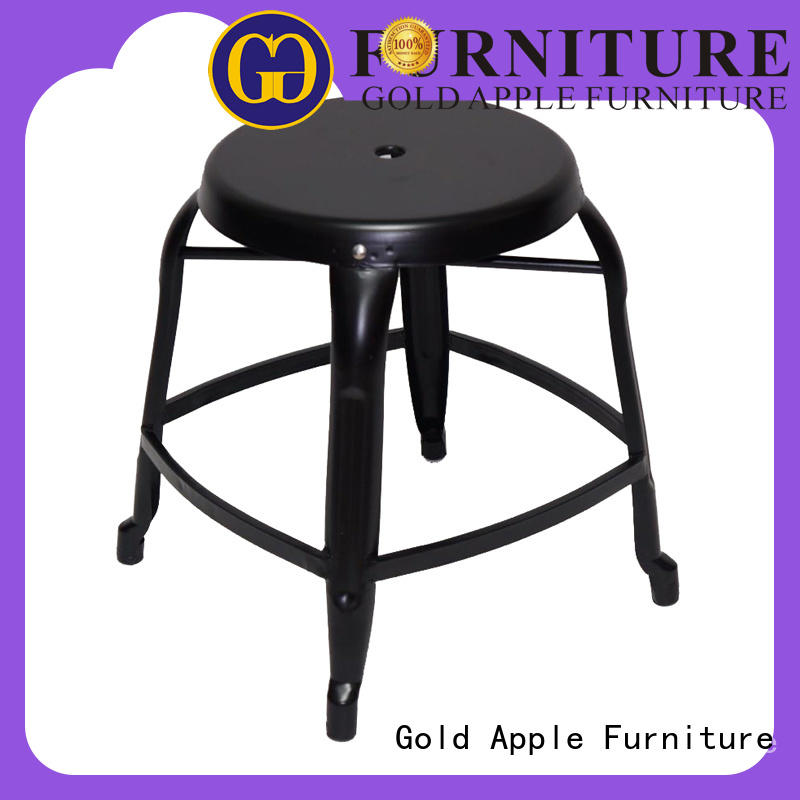 Gold Apple commercial outdoor counter stools metal wire