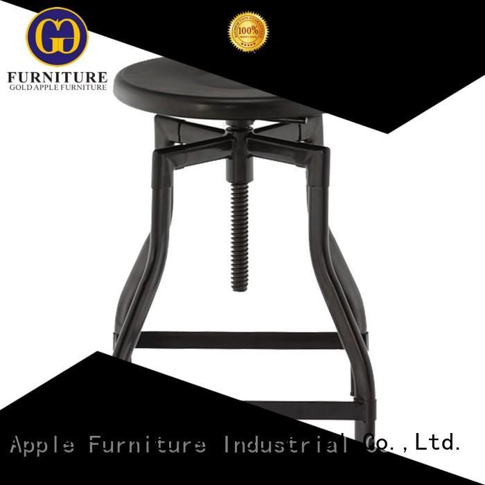 backless wooden swivel bar stools vintage powder coating for kitchen