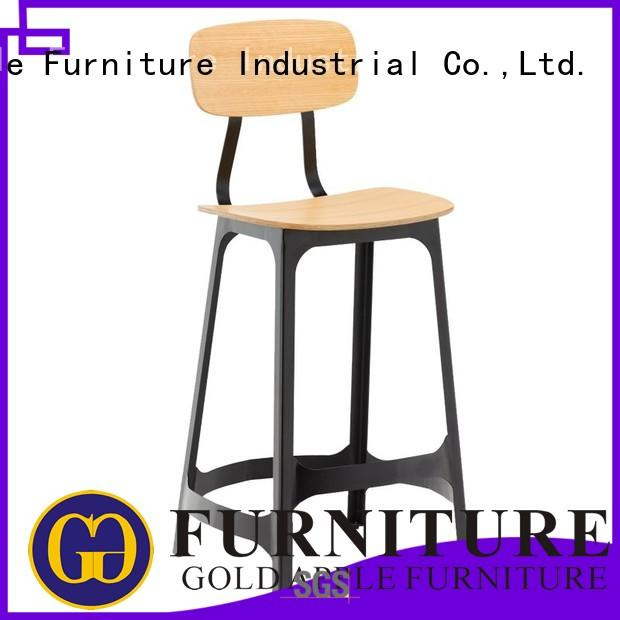 Gold Apple luxury bar stools commercial adjustable height