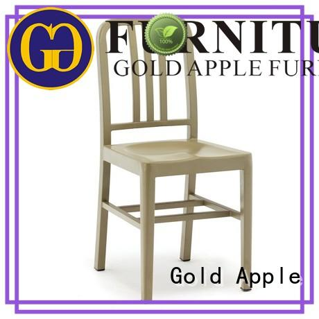 modern metal kitchen table chairs natural oak electroplated french style