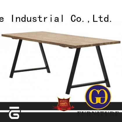 high-end wooden small dining table for restaurant