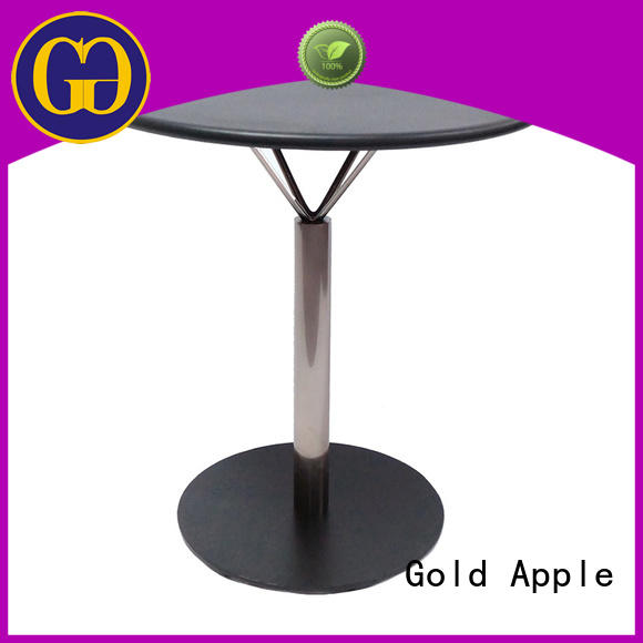 comfortable off white round dining table industrial for catering Gold Apple