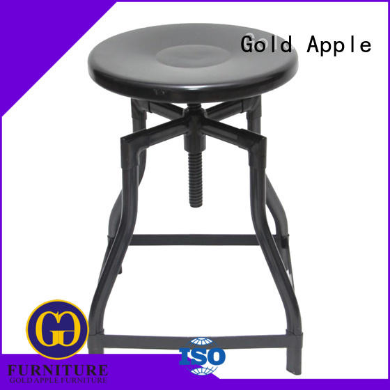 vintage low kitchen stools wooden seat fashion restaurant chairs