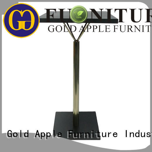bar small round bar table adjustable height commercial furniture Gold Apple