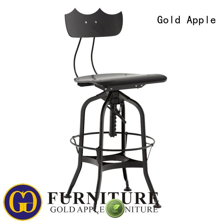 antique leather swivel bar stools with back industrial retro for bar