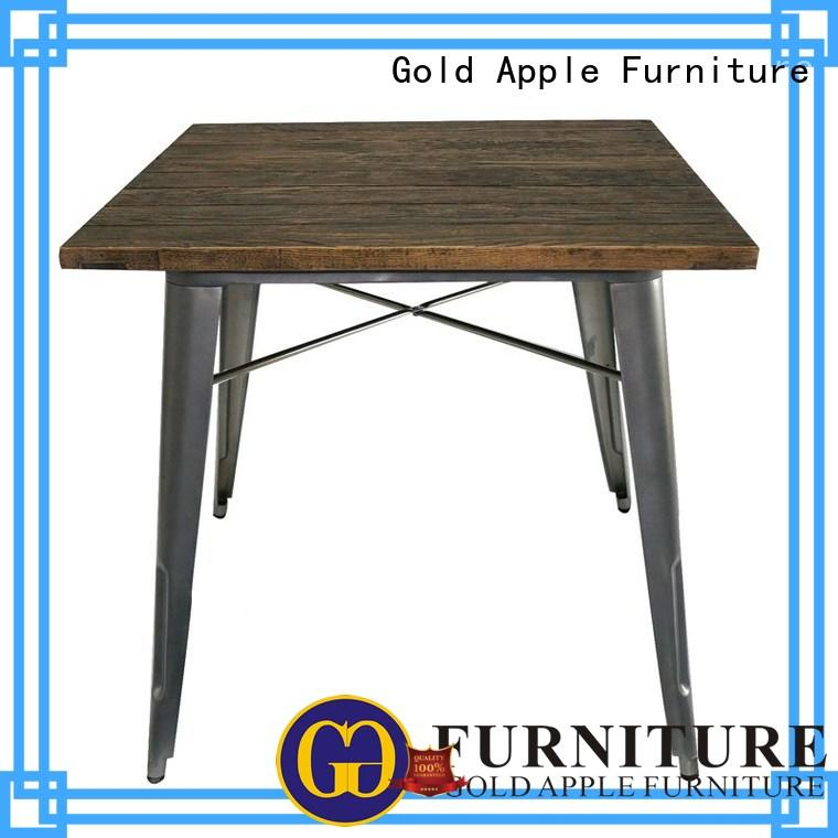 comfortable long black dining table high-quality for catering Gold Apple