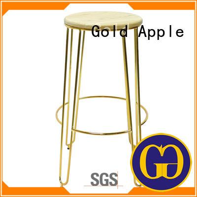 Metal Wood High Stool GA302C-75STW
