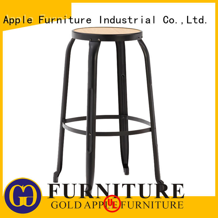 wooden stool chair plywood counter Gold Apple Brand wooden swivel bar stools