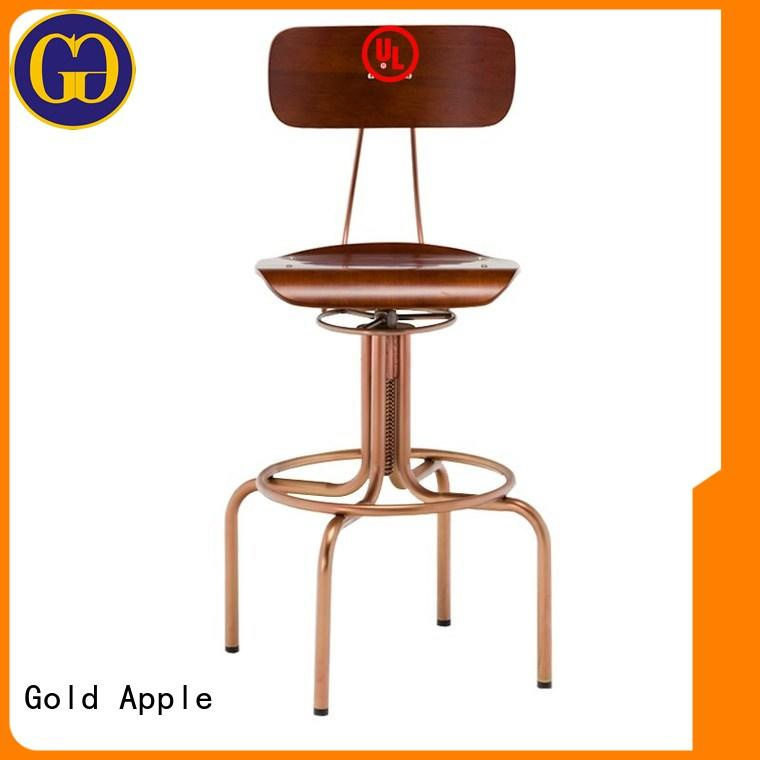antique 24 inch wooden bar stools high-end industrial metal for bar