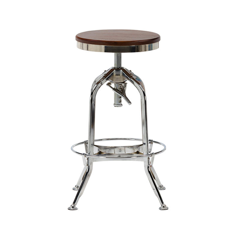 High stainless steel bar stool personality high stool GA401C-65STW-2